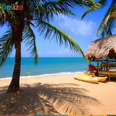 A picture perfect day in #Belize. Don't you want to just jump in?