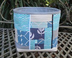QAYG Fabric Basket ~ Threading My Way