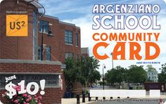 Pro bono WordPress website designed and developed for the Argenziano PTA in order to sell Community Cards as a fundraiser and way to support the local business community. Card also designed by @trulygood.