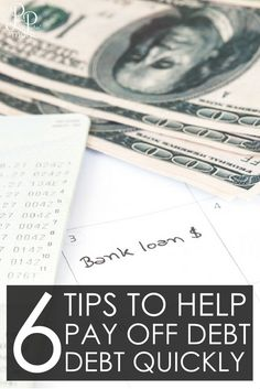 How to Get out of Debt - Tips to pay off debt fast