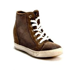 Antique Gray/Perforated Sneakers 20% OFF- Code PINTEREST20