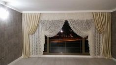 Valance Curtains, Salons, Home Decor, Lounges, Decoration Home, Room Decor, Home Interior Design, Valence Curtains, Home Decoration