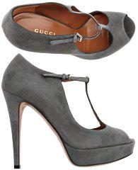 Gucci Womens Shoes - Fall - Winter 2012/13...Grey ♡♥.