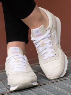 New Balance - White Asparagus with Pink Adidas Superstar, New Balance, Asparagus, Adidas Sneakers, Chic, Pink, Design, Fashion, Shabby Chic