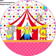Montando a minha festa: Circo meninas