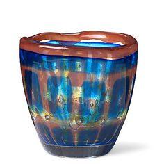 """SVEN PLAMQVIST - """"Ravenna"""" glass vase, nr 43, Orrefors 1951, Sweden. Height 10,5 cm, diameter 10,5 cm. Glass Vessel, Glass Art, Glass Bowls, Glass Design, Design Art, Ravenna, Bukowski, Wine And Spirits, Bottle Art"""
