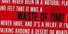 Waste of time Font · 1001 Fonts