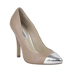 ILUSSION BLUSH LEATHER women's dress high pointy toe - Steve Madden  Super love the mirrored tip!