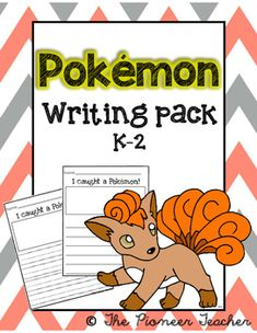 Get your kids #writing! Use these #Pokemon templates.The following topics are included: I Caught A Pokemon!; If I Were A Pokemon; My Pokemon Battle; My Avatar.
