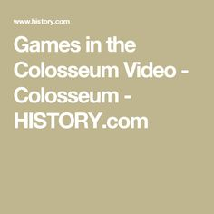 Games in the Colosseum Middle School History, Ancient History, Games, Gaming, Plays, Game, Toys, High School History
