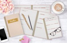 Plan your day, your way! The new DATED planner from Gotcha Covered Notebooks is the ultimate planning system to stay organized and achieve your goals. Contact them today at customerservice@gcnotebooks.com. Made in the U.S.A and ships next business day. {Sponsored}