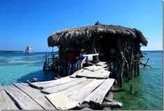 Pelican Bar, Jamaica. I've seen this place on tv. We are SO going the next time we are in Jamaica!