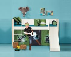 A lot of creative room solutions and practical concepts. We have collected all the room décor ideas and inspirations for girls' room, boys room and baby room. Room Inspiration, Baby Room, Kids Room, Room Decor, Creative, Furniture, Home, Inspired, Child Room