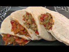 Pan de pita relleno de verduras (2 rellenos) | Receta vegana - YouTube