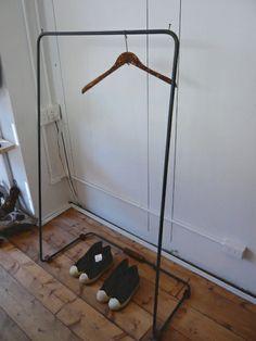 Wood Hanger アイアン ハンガーラック 古木 レトロ アンティークシャビー インテリア 雑貨 家具 Antique ¥29800yen 〆05月17日