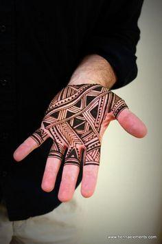 geometric tattoo design