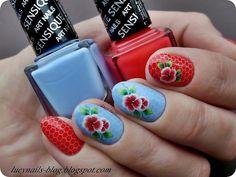 SENSIQUE Art Nails nr 327 Morning Sky i nr 328 Salmonberry