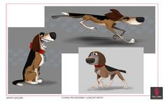 Character design concepts for Ozzy by Javier Ledesma. Hyena, Feature Film, Artist At Work, Scooby Doo, Dogs And Puppies, Character Design, Cartoon, Disney, Illustration