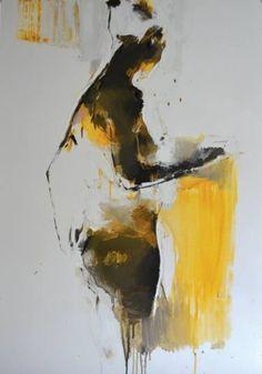 """Saatchi Art Artist Iryna Yermolova; Painting, """"Bather 1"""" #art"""
