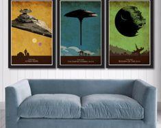 Vintage Pop Art Star Wars Trilogy