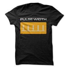 Pulse Width T-Shirts, Hoodies, Sweatshirts, Tee Shirts (23.99$ ==> Shopping Now!)