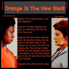 The cowboy scene in Orange Is The New Black