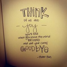 Disney Quotes Tumblr Peter Pan