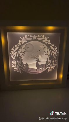Shadow Light Box, Diy Shadow Box, Shadow Art, Shadow Box Frames, 3d Paper Art, Paper Artwork, Paper Crafts, Shadow Box Kunst, 3d Cuts