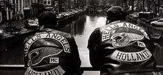 Hells Angels, Angles, Old School, Holland, Red And White, Club, Ring, The Netherlands