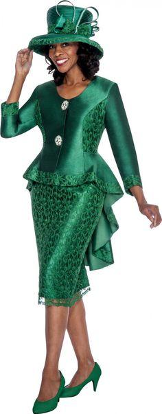 GMI G6012 Emerald Womens Church Suits - Divine Church Suits