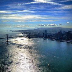 """November in SF, """"Nothing But Blue Skies"""""""
