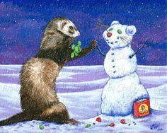 Snow Ferret