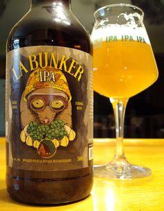 La Bunker IPA - Le Refuge Des Brasseurs #dégustation #bière #brasseursdumonde…