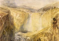 Fall of the Trees, Yorkshire - William Turner