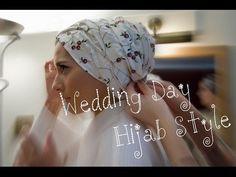 ▶ MY BRIDAL HIJAB TUTORIAL! - YouTube