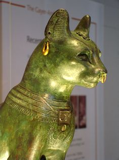 The Gayer-Anderson Cat, Egypt, 600 BC, British Museum's collection