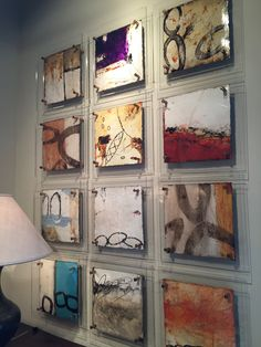 Good way to frame and hang these. Good way to frame and hang these. Good way to frame and hang these. Good way to frame and hang these. Ceramic Wall Art, 3d Wall Art, Small Paintings, Art Paintings, Encaustic Art, Wow Art, Small Art, Painting Inspiration, Collage Art