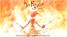 Kenny Ruiz: El final de Dos Espadas se acerca. Finals, Spanish, Wonder Woman, Superhero, Comics, Fictional Characters, Swords, Final Exams, Spanish Language