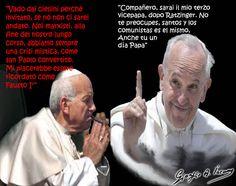 Anche Bertinotti un giorno sarà Papa!