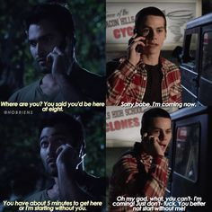 "2,851 Me gusta, 36 comentarios - sterek (@hobriens) en Instagram: ""+ just to be clear they're talking about sex"""