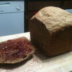 Cinnamon,oatmeal, raisin, apple wheat bread....say that ten times!