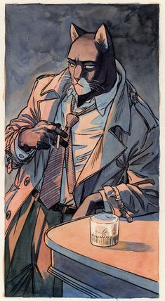 "Juan Díaz Canales and Juanjo Guarnido - ""Blacksad"""