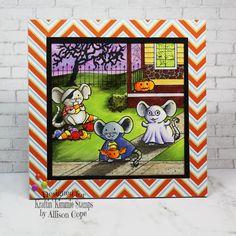 Too Cute To Spook! Halloween Scene, Little Pumpkin, Candy Corn, Stencils, Stamps, Goodies, The Incredibles, Memories, Heart
