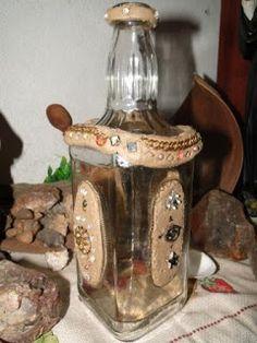 Pingos di Arte: arte em garrafas de vidro