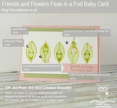 #FriendsAndFlowers #SuiteSayings #BabyCard The Crafty Owl | The daily blog of Joanne James <br />Independent Stampin' Up! Demonstrator -- <a href=mailto:joanne@thecraftyowl.co.uk>joanne@thecraftyowl.co.uk</a>