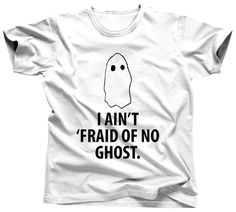 Men's Halloween Shirt Ghost Shirt Trick Or Treat by Umbuh on Etsy