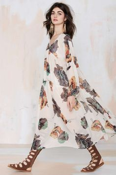 After Party Vintage Kassidy Sheer Dress   Shop What's New at Nasty Gal