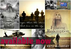 Fighting Redemption by Kate McCarthy Released:  December 2nd, 2013 Genre: Contemporary Romance; Military https://www.goodreads.com/book/show/18304765-fighting-redemption?ac=1
