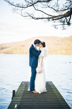 Jenny Packham and Ostrich Feather Glamour for a Gatsby Inspired Lake District Wedding | Love My Dress® UK Wedding Blog