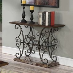 Coaster Furniture Faux Marble Top Sofa Table   705119